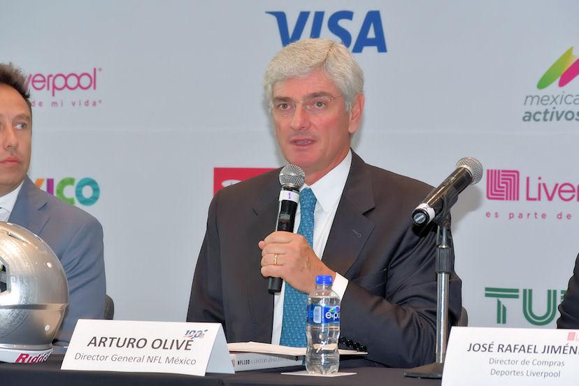 Arturo Olivé, director general de la NFL México