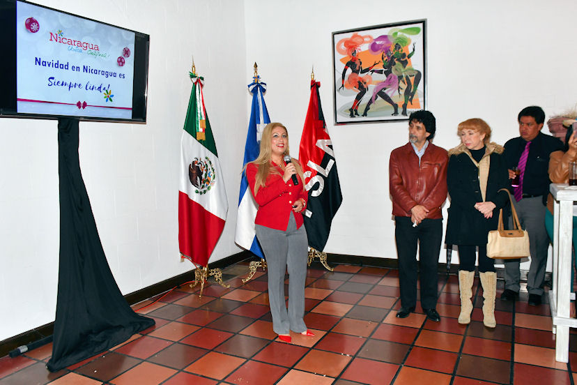 Nahiry Silwany, responsable de Promoción Internacional del Intur, presentó Navidad en Nicaragua es Siempre Linda