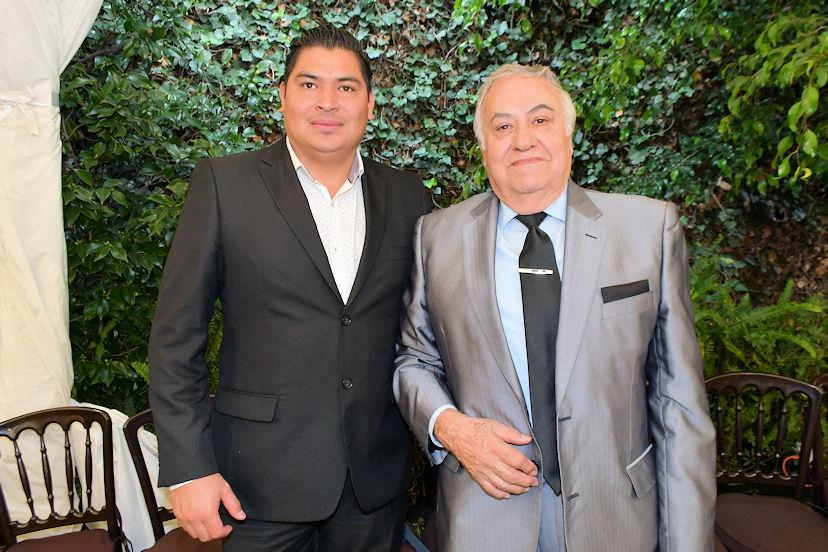 Javier Ramírez y Antonio Ortiz