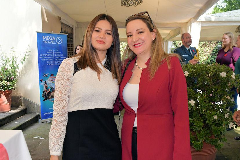 Patricia Buitrago y Tatiana García