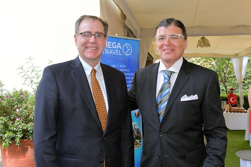 John Creamer y Miguel Ángel Orozco