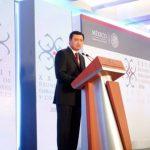 Aborda Osorio Chong diversos temas ante diplomáticos