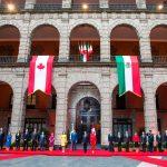Actividades del primer ministro de Canadá en su visita a México