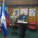 Fuerzas Armadas firman acuerdo de cooperación con Ejército de Nicaragua