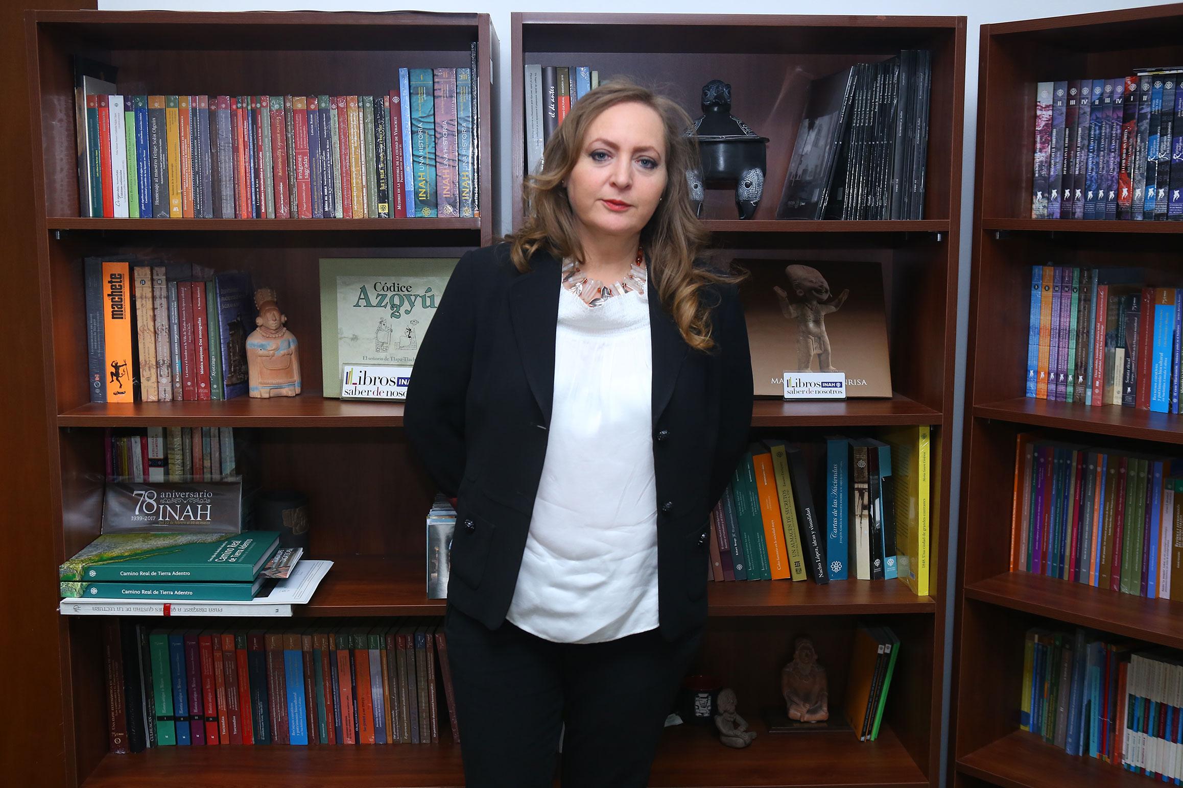 Adriana Konzevik, la nueva coordinadora de Difusión del INAH