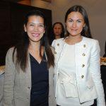 Karla Guerrero y Mariana Temiño, representante directiva de la agencia Links