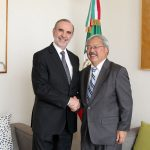 Alcalde de San Francisco visita la CDMX