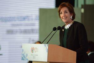 Roberta S. Jacobson, embajadora de los Estados Unidos en México y presidenta honoraria de Amcham