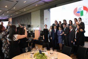 Mónica Flores Barragán fue elegida para representar a la Amcham durante la 100ª Asamblea General de Socios