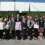 Directivos de la Universidad Anáhuac, alumnos organizadores de la Feria de las Culturas, representantes de la ACD, y los embajadores de Jordania, Ecuador y Chipre