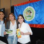Estefanía Flores, Paulina Rodríguez y Sarah Revilla explicaron datos interesantes de Belice