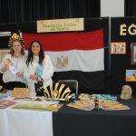 Faraonas egipcias: Sofía Saborío y Frida Cano