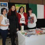 Alessandra Forno, Pamela Oscos, Diana García y Nallely Quiroz