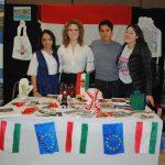 Hungría, bien representado por Grysel Fernanda Hernández, Graziella Villa, Francisco Jiménez y Karime Latof