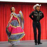 En el acto inaugural se realizaron bailes mexicanos