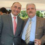 Mammad Talivov, encargado de Negocios A. I. de la Embajada de Azerbaiyán, y Fikret Türkes.