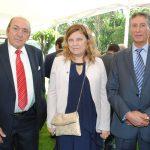 Faris Al-atrash, Joanne Desnoyers y Fituri Enzan.