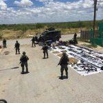 Sedena confisca armamento ilícito