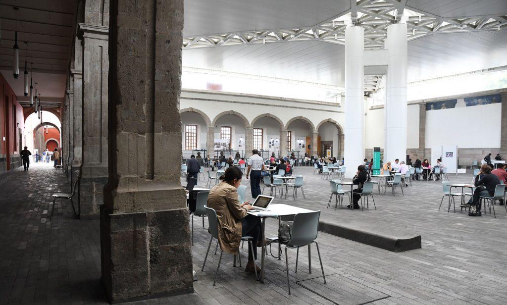 La Biblioteca de México, un oasis para la lectura