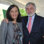 Mariana Díaz de Delgado y su esposo, Jorge Alberto Delgado Fernández, embajador de Paraguay