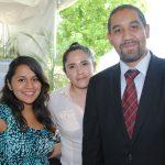 Saraí Téllez, Andrea Chávez y Mauricio Avendaño