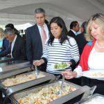 Diversos platillos de la gastronomía bangladesí disfrutaron los invitados