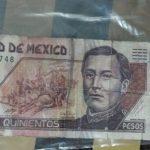 ¿Recibiste un billete falso?