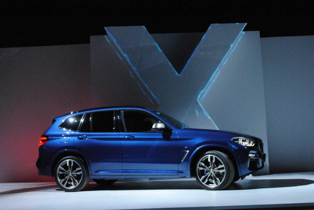 El nuevo BMW X3.