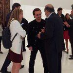 Realiza Bono visita sorpresiva al Museo Soumaya