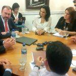 Canciller de México se reúne con sus homólogos de Centroamérica