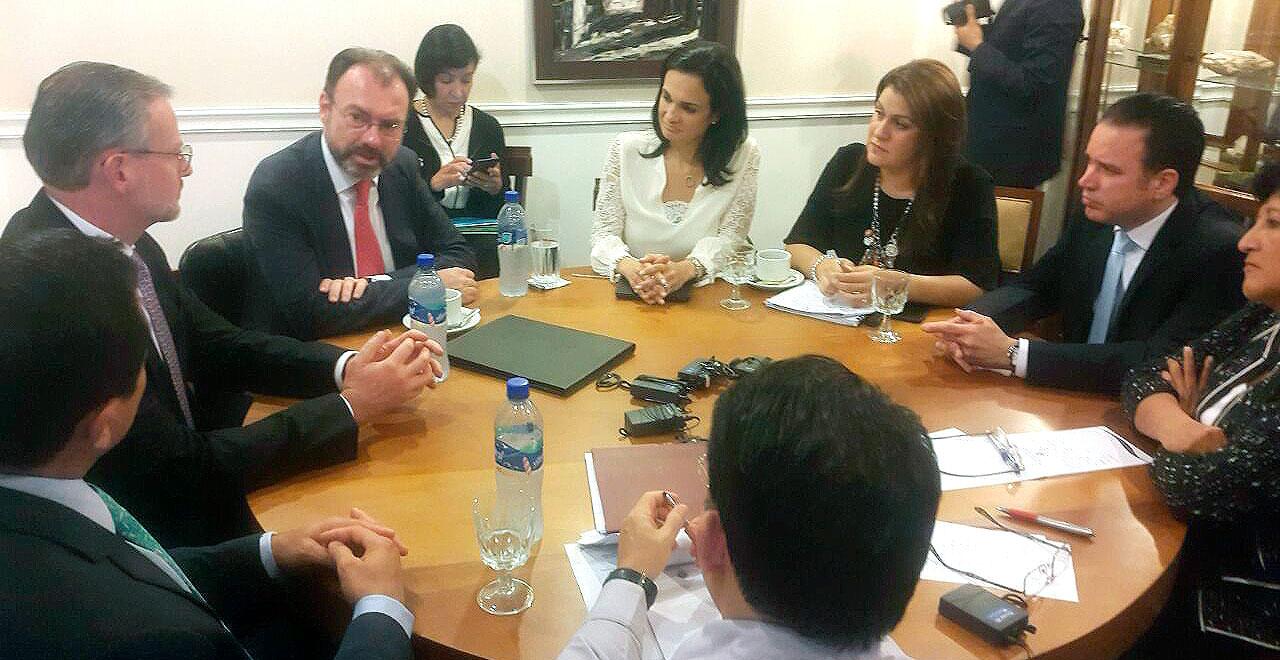 El canciller Luis Videgaray participó en la Reunión del Consejo de Ministros de Relaciones Exteriores del SICA