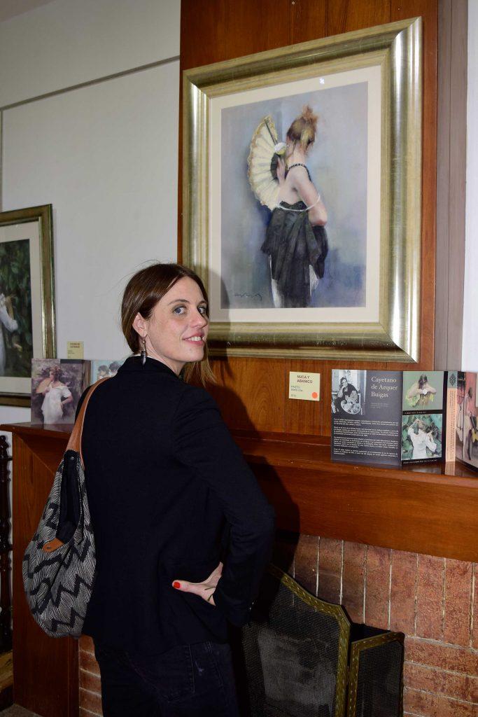 Cayetana de Arquer, hija de Cayetano de Arquer Buigas