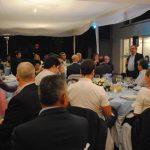 Solo por reunir a los amigos, organiza Embajada de Argentina en México una apetitosa cena