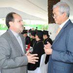 Mohammad Thagji, embajador de Irán, y Supradip Chakma, embajador de Bangladesh. Revista Protocolo Copyright©