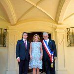 Participa Enrique Peña Nieto en la ceremonia de transmisión presidencial en Chile