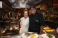 Chefs Camila Vélez y Álvaro Molina