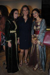 Rim Chafiki, Haydeé Turrubiates y Sanaa Boutayeb