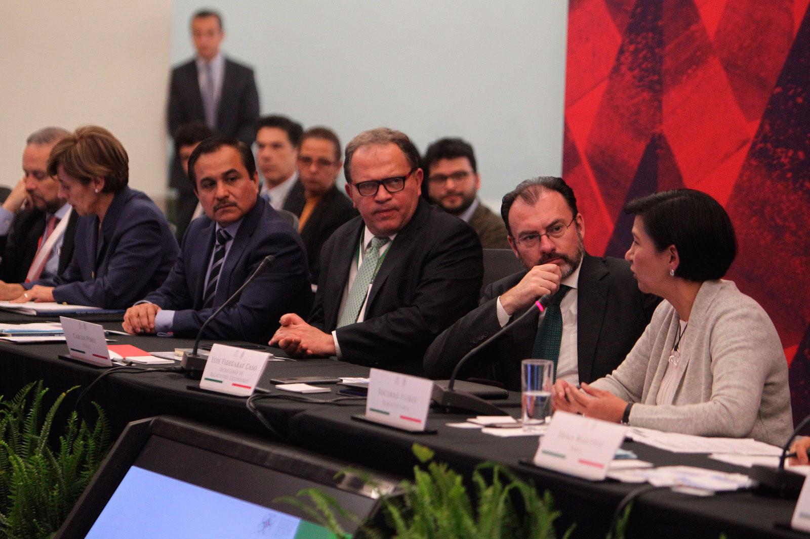 Ante la llegada de Trump, México negociará con realismo: Videgaray