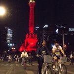 Con paseo nocturno en bici celebra CDMX Día del Amor