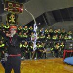 Convive arquera olímpica con cadetes del Colegio Militar