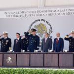 Convoca Enrique Peña Nieto a reconocer la dedicación de las fuerzas armadas