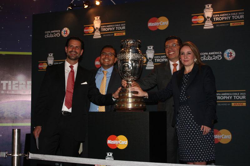 Presentación de la Copa América en el Papalote Museo del Niño
