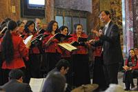 El Coro de Madrigalistas cierra el año con cantos navideños en Bellas Artes