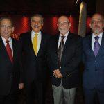 Rafael García Garza, Jorge Kahwagi Gastine, Eduardo Matos Moctezuma y Francisco Báez Rodríguez. Revista Protocolo Copyright©