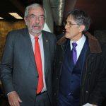 Enrique Graue, rector de la UNAM, y Antonio Lazcano Araujo. Revista Protocolo Copyright©