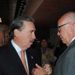 El senador Emilio Gamboa y José Narro Robles, secretario de Salud. Revista Protocolo Copyright©