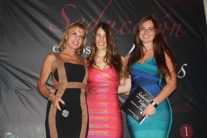 Deby, Melanie y Alexis Béard te regalan 2 ejemplares de Seducción en los viajes - Protocolo Foreign Affairs & Lifestyle