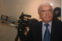 Recepción de Gebran Bassil en el Centro Libanés