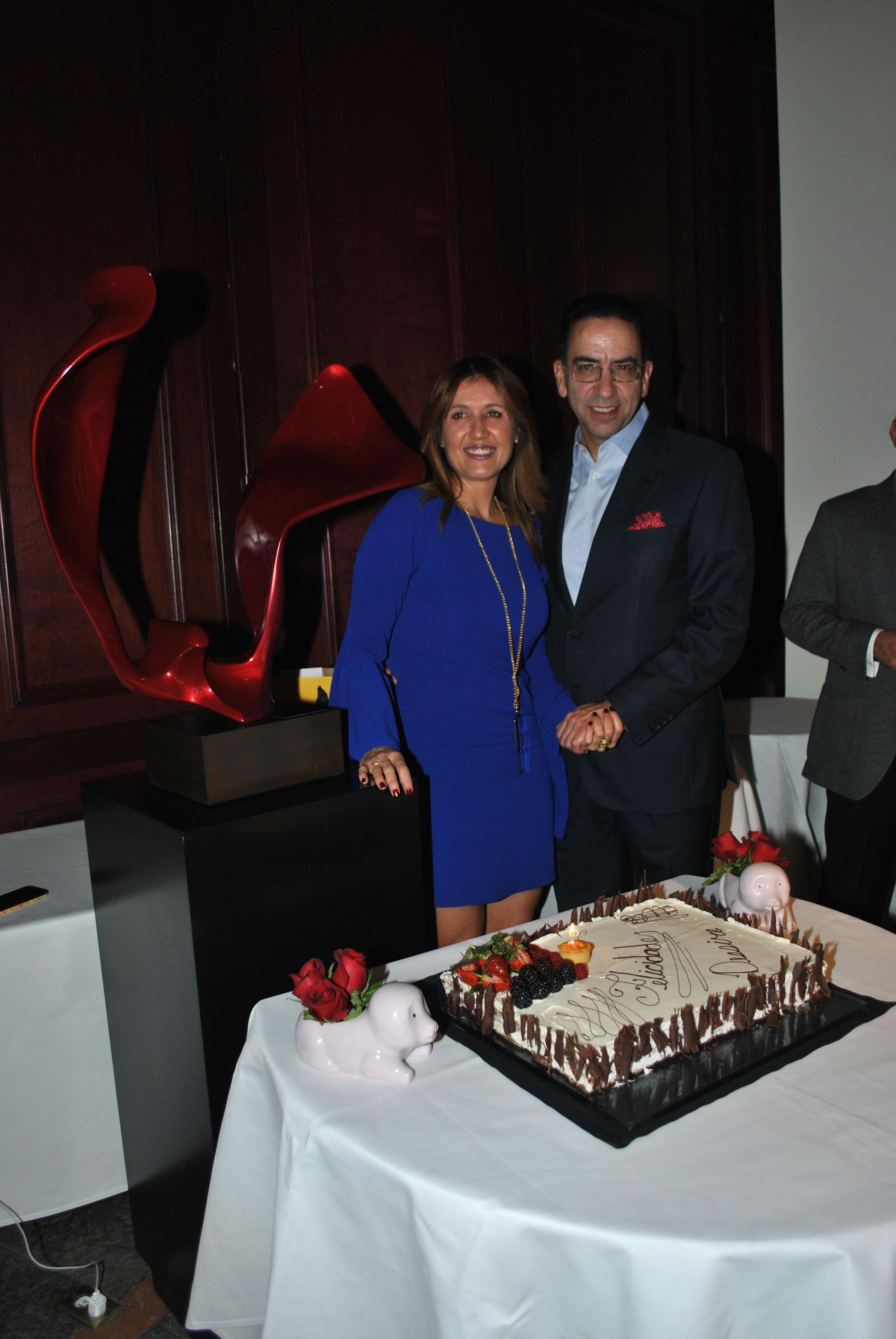 Desirée Navarro y Javier Lozano Alarcón