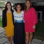 Domenica, Camila y Claudia Zapata. Revista Protocolo Copyright©